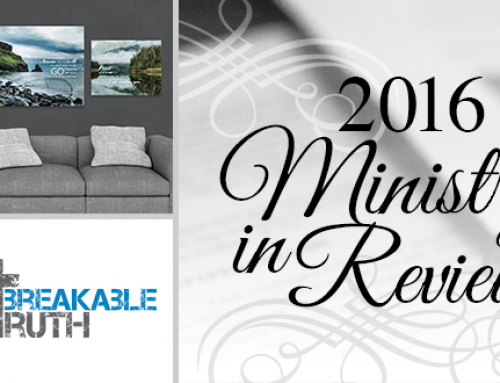 2016 – MINISTRY IN REVIEW