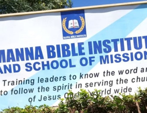 Help Us Support Our Friends At The Manna Bible Institute in Kenya During The Pandemic