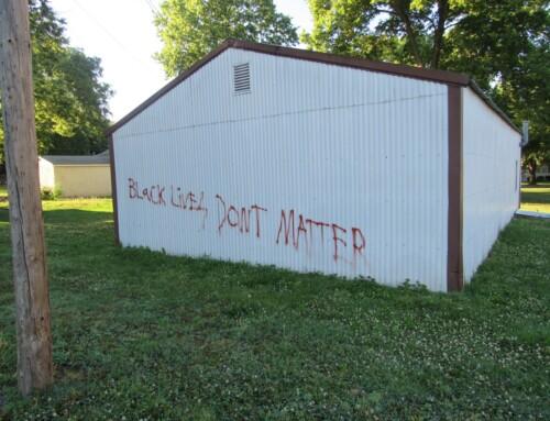 Racial Vandalism in My Town?